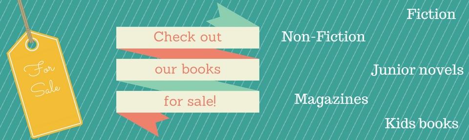 books for sale slide