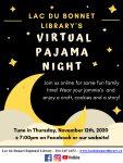 Virtual Pajama Night!