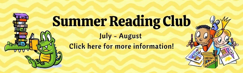Summer Reading Club Banner
