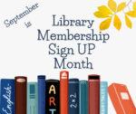 Library Membership Month